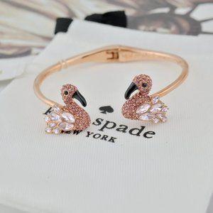 Kate Spade Flamingo Spring Open Bracelet